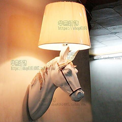 PinWei_ Ma Tau Wall lamp living room bedroom ideas Wall lamp,Hand-painted color