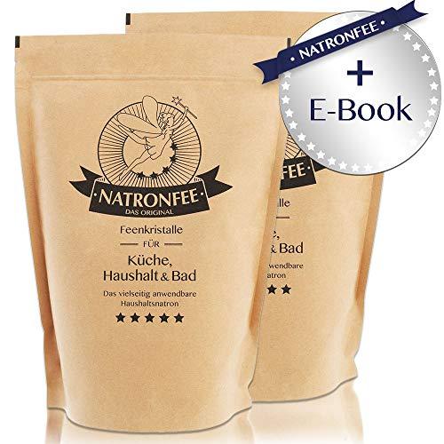 Reines Natron Pulver 2 kg - 2000 g Natriumhydrogencarbonat - Backsoda - Bakingsoda - Natriumbicarbonat