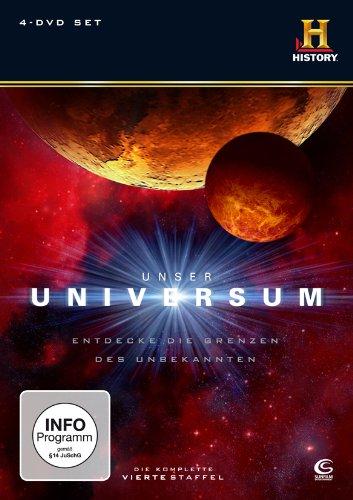 Unser Universum/Geheimnisse des Universums - Staffel 4 (4 DVDs)