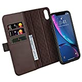 ZOVER Coque iPhone XR Coque avec [RFID Blocking] iPhone iPhone XR, Détachable Housse...