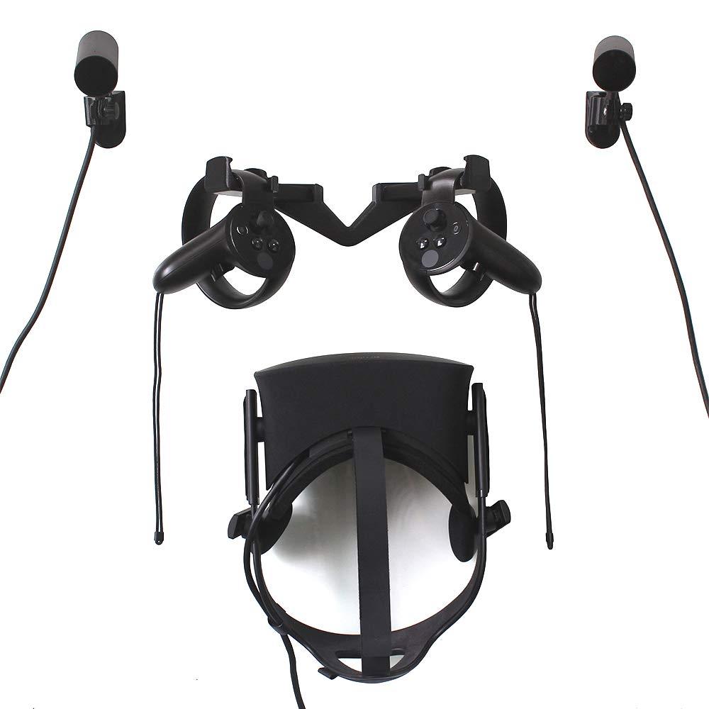 Support de Crochet Mural VR pour Casque Oculus Rift, Touch and Sensor