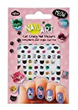 Fingernail Friends Cat Nail Art Stickers