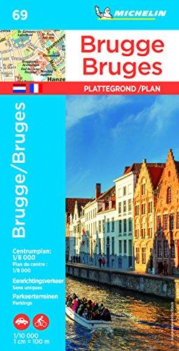 Plan Bruges Michelin par Michelin