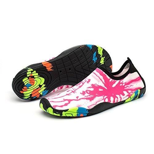 17dd643fba17 FONDBERYL Scarpe da Scoglio da Scoglio Scarpette da Bagno Mare Spiaggia  Ballo Yoga Materiale Traspirante Elastico
