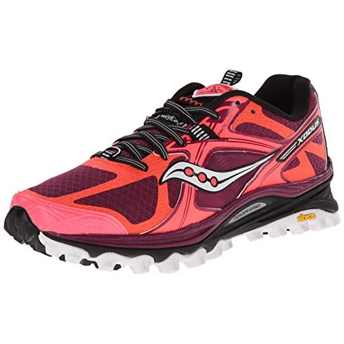 51%2BE8l7HvuL. SS500  - Saucony XODUS 5.0 VIZICORAL/BERRY 6.5 US