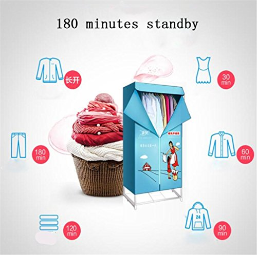 Steam panda home asciugatura armadio, asciugabiancheria asciugatrice asciugatura, casa portatile, doppia, 900w, riscaldamento ptc