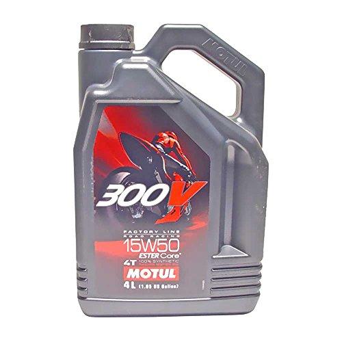 Motul Öl Motorrad 15W50 4T Syn 300v Fl Road Racing 4L 104129 3374650247670