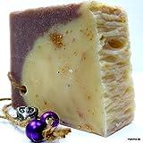 Freddo gerue hrte di cioccolato al latte di pecora sapone Cocco 150gr | Sapone Naturale in confezione Lino sackerl.