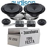 Audison APK-165-16cm Lautsprecher System - Einbauset für Ford Fiesta MK7 Front Heck - JUST SOUND best choice for caraudio
