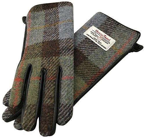 Preisvergleich Produktbild Unisex-Handschuhe, weiches Echtleder, gefüttert, Schwarz