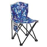 ZDY Klappstuhl Outdoor Stuhl Faltbar Home Freizeit Stuhl Angeln Stuhl Camouflage Tragbarer Hocker Garten Strand Stuhl 35x35x60 cm (Farbe : B)