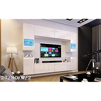 Future 27 Wohnwand Anbauwand Wand Schrank Tv-Schrank Wohnzimmer