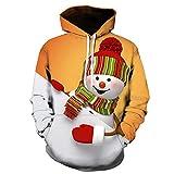 Pullover Herren,Weihnachten Herren Shirt,Parker Jacken Herren