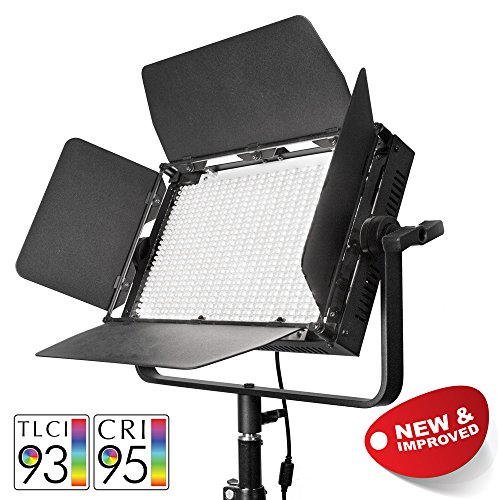 Affordable PIXAPRO® VNIX1000B Single Head LED Panel Video Lighting Panel 5500K-3200K Dimmable DMX Control Interview YouTube Video Light High CRI >95% *2 Year UK Warranty *Fast Delivery *UK Stock *VAT Registered … (VNIX1000B, Single Head) Special