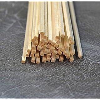 WWS Balsa Holz Streifen 3/32 x 3/32 - 2,4 mm x 2,4 mm 12 Lange A9 x45  alsa Holz St alsa Holz Streif