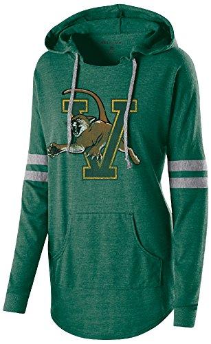 Ouray Sportswear Damen Kapuzen Low Schlüssel Pullover, Damen, Women's Hooded Low Key Pullover, Vintage Forest/Vintage Grey -
