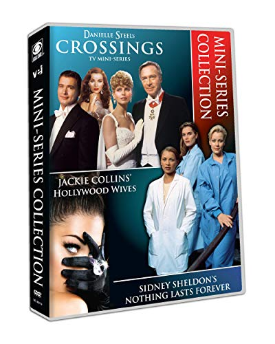 Mini-Series Collection Danielle Steel's Crossings Jackie Collins Hollywood Wives, Sidney Sheldon's Nothing Lasts Forever
