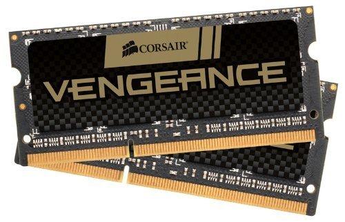 Corsair CMSX16GX3M2A1600C10 Vengeance 16GB Arbeitsspeicher ((2x8GB) DDR3 1600 Mhz CL10) -