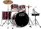 Mapex Mars MA529 22 inch Rock Fusion Drum Kit   Bonewood great sounding kit
