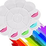 A-szcxtop Farbpalette 8Gut Multi–funktionale Blume Palette Supplies 3PCS ein Set (weiß)