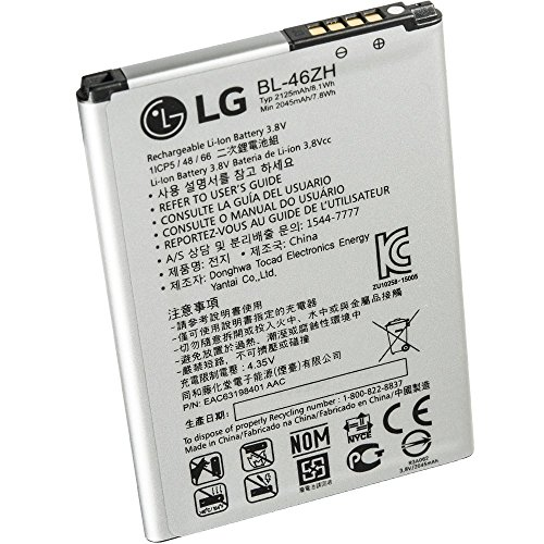 LG Electronics - BL-46ZH Lithium Ionen Akku - K7, K8, X210, K350N - 2125mAh (Lg Lithium-batterien)