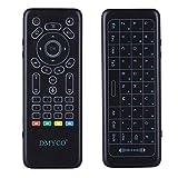 DMYCO 2.4 G Mini Teclado inalámbrico retroiluminado con Panel táctil para Android Smart TV Box TV TV proyector de Aire Acondicionado