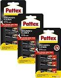 Pattex Sekundenkleber Mini Trio flüssig 9 x 1 g, PSMT2 (9 Tuben à 1 g)