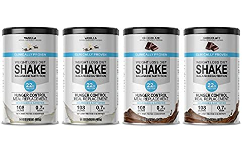 Enisso – Weight Loss Diet Shake Balanced Nutrition – 60