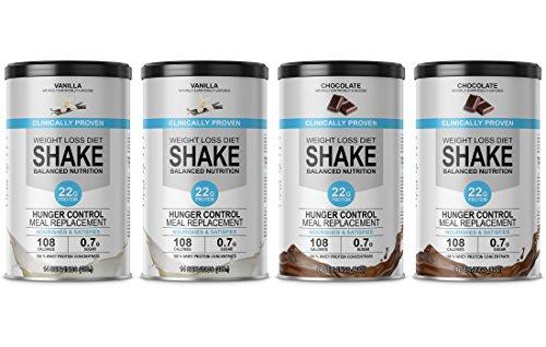 enisso-weight-loss-diet-shake-balanced-nutrition-60-days-supply-2-x-400-g-vanilla-2-x-400-g-chocolat