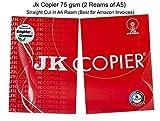 JK Copier Paper - A5, 500 Sheets, 75 GSM, Pack of 2 Reams