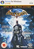 Batman Arkham Asylum Game Of The Year