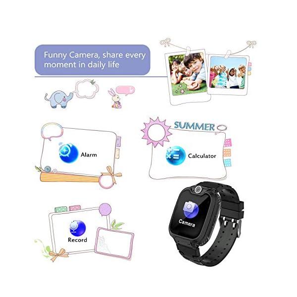 Niños Smart Watch Phone, La Musica Smartwatch para niños de 3-12 años