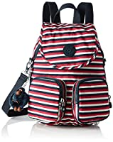 Kipling Womens Firefly Up Backpack Multicolour (Sugar Stripes)