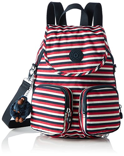 Imagen de kipling  firefly up,  mujer, multicolour sugar stripes , 22x31x14 cm w x h x l  alternativa