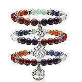 Best Jovivi Friend Wish Bracelets - Jovivi 3pc 7 Chakras Yoga Meditation Healing Balancing Review