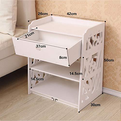 Cwllwc armadio moderno comodino moda armadio semplice letto armadio archivio home office