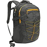 The North Face Borealis Zaino, Grigio (Asphalt Grey/Citrine Yellow), 28 litri