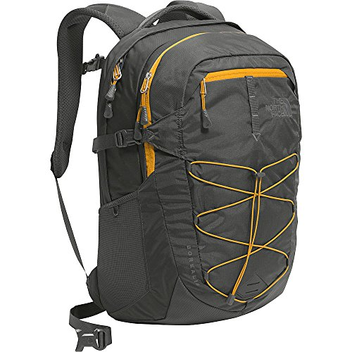 the-north-face-borealis-zaino-asphalt-grey-citrine-yellow-50-cm