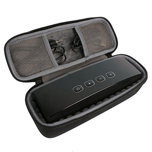 co2CREA EVA Stockage Cas Voyage Étui Housse Sac pour Anker Enceinte Portable Bluetooth Stereo haut-parleur Speaker (A3143) et USB câble