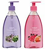 Dalan Therapy Liquid Soap Combo Pack of Lavender & Thyme and Wild Roses & Almond Oil