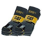 Caterpillar CAT - Chaussettes basses - Homme (39-42, 6 paires de Gris)