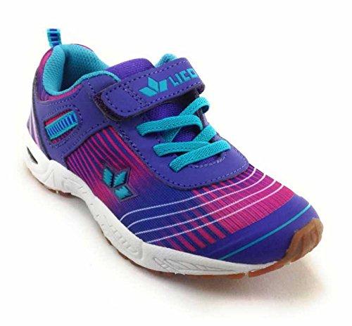 Lico  360544, Chaussures de ville à lacets pour femme LILA/PINK/TUERKIS