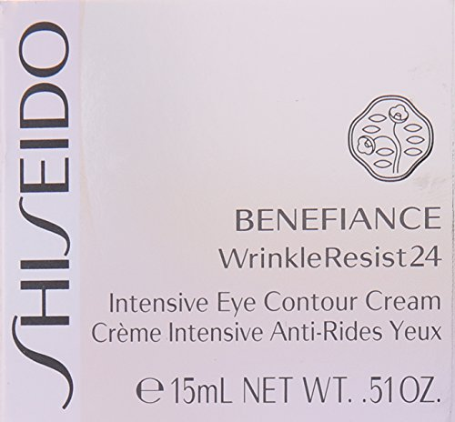 Shiseido Benefiance Wrinkle Resist 24 - Intensive Eye Contour Cream, feme/woman, 1er Pack (1 x 15 ml)