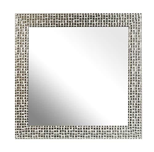 12 X 12 Mosaik (Inov8Spiegel Rahmen Mosaik 12x 122Stück, Silber, 2Stück)