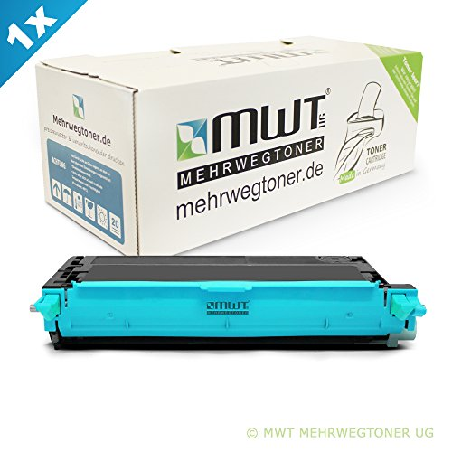 Mehrwegtoner für Phaser 6280 ersetzen Xerox Blaue Patronen - deutsche Qualität von MWT - kein Original -