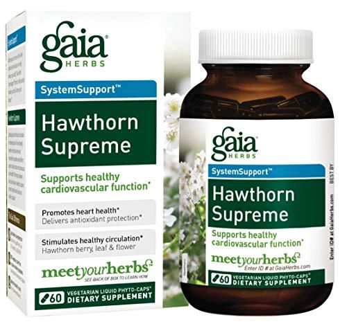 Hawthorn Supreme, 60 Vegetarisch Flüssiges Phyto-Caps - Gaia Kräuter - Gaia Kräuter