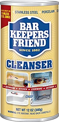 Bar Keepers Friend Cleanser & Polish: 12 Oz