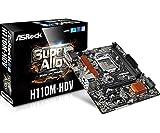 Asrock H110M-HDV S1151 mATX Intel DDR4 Retail Mainboard