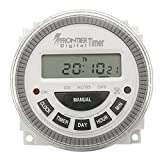 Tutoy Ac 220V-240V Digital LCD Power Programmierbarer Timer Elektronischer Zeitschalter