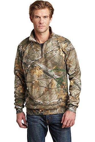 Russell Outdoor Realtree 1/4-Zip Sweatshirt. ro78q XXL Braun - Realtree Xtra